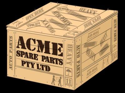 ACME Rare Auto Parts - Panels