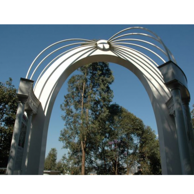 Cloudland Memorial Arch by artist Jamie Maclean