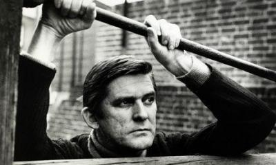 Ray Barrett, with his scarred face, often played the tough guy ... especially in his early career movies and television appearances in the UK.