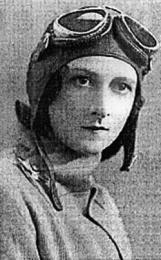 Early aviatrix, Lores Bonney.