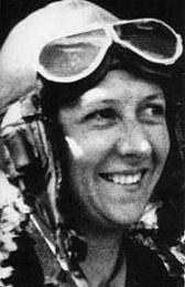 Lores Bonney around the time of her record breaking flights.