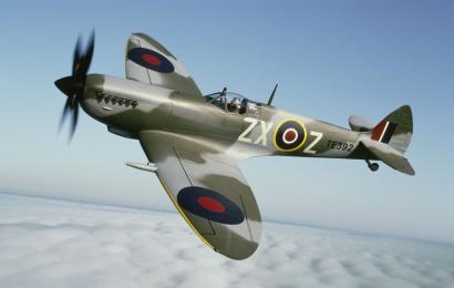Spitfire MkXVI based at Archerfield
