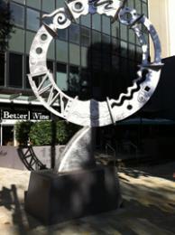Richard Byrnes Sculpture: Harbour Cycles (2009)